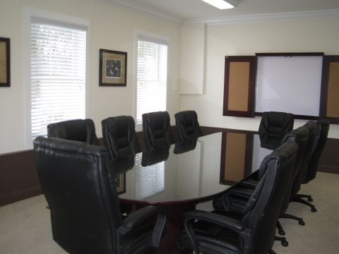 Conference room at 507 Ocean Boulevard
